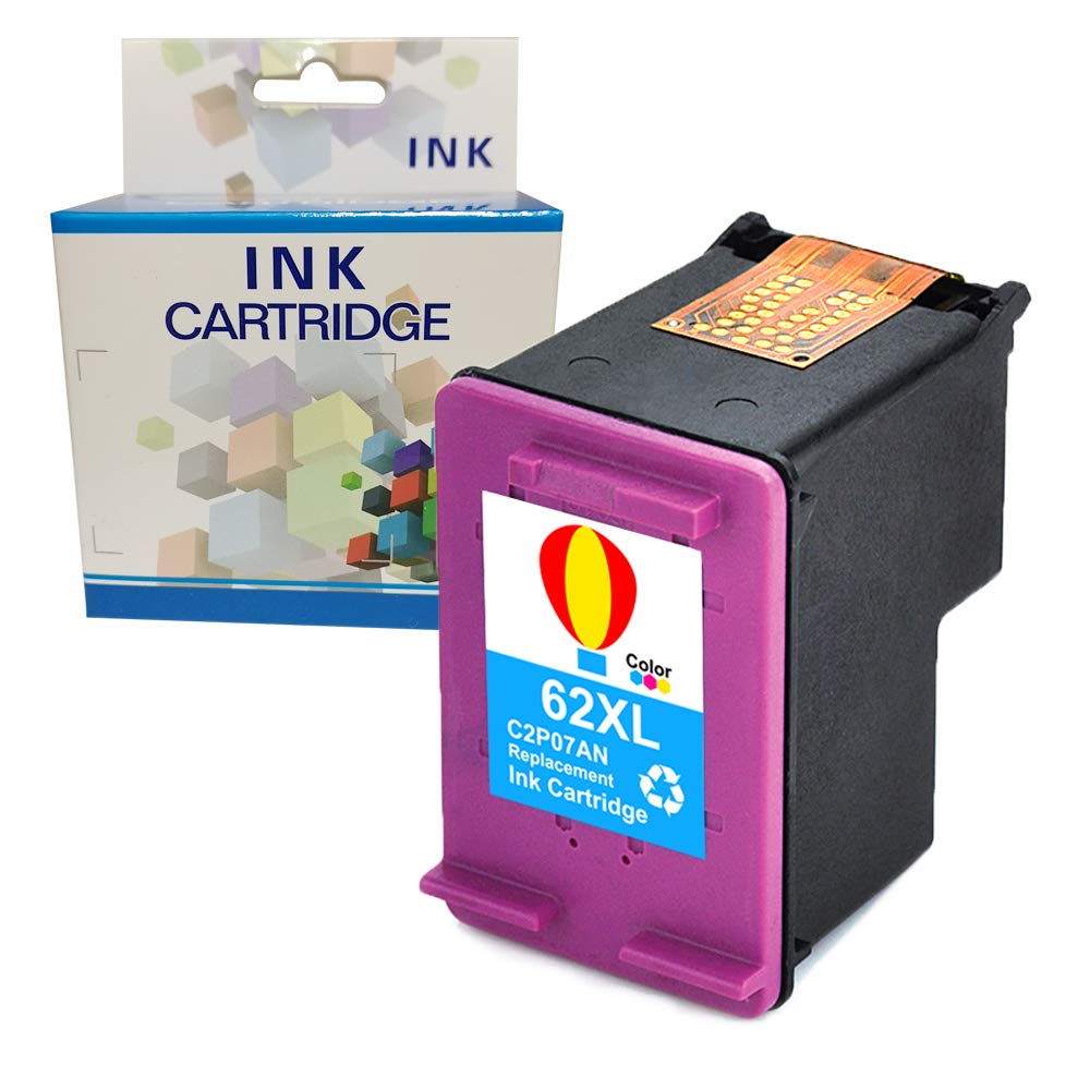 A1INK Cartucho de Tinta de Repuesto para HP 62 62XL 62 XL ...