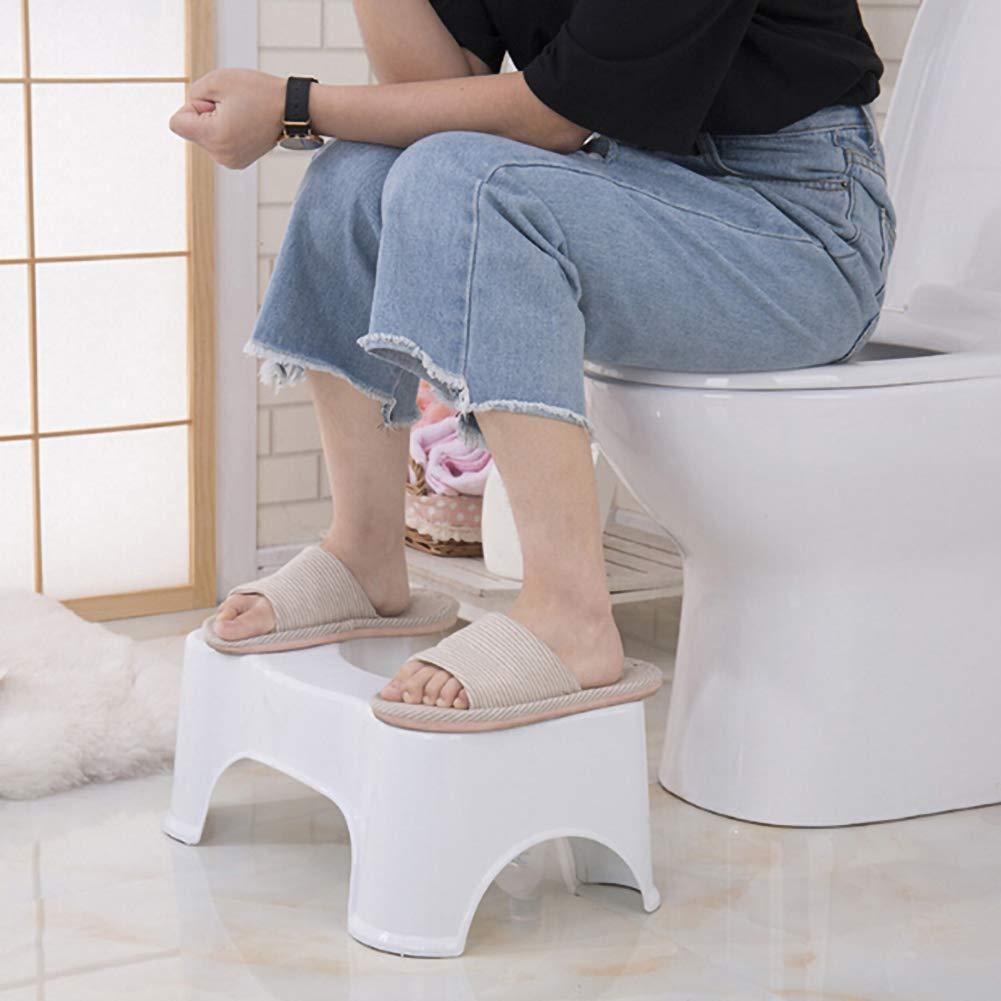 sgabello per WC Sgabello da bagno in plastica squatty Potty Concise addensato HOPQ