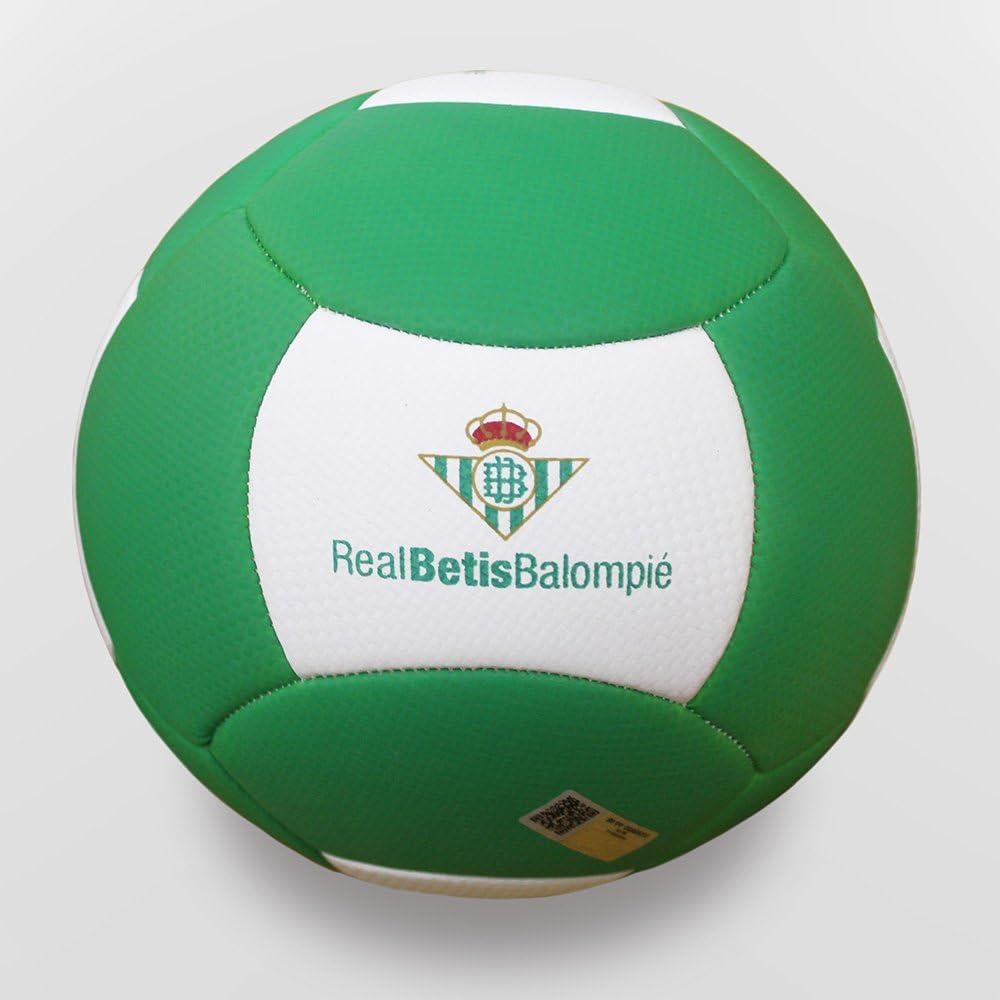 adidas - Balón Fútbol Playa Real Betis Balompié 2016/2017, Cuero ...