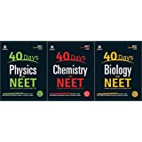 40 DAYS FOR NEET ( PHYSICS, CHEMISTRY, BIOLOGY) 3 BOOK COMBO PACK (2017)
