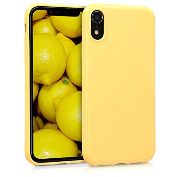 iphone xr yellow apple case