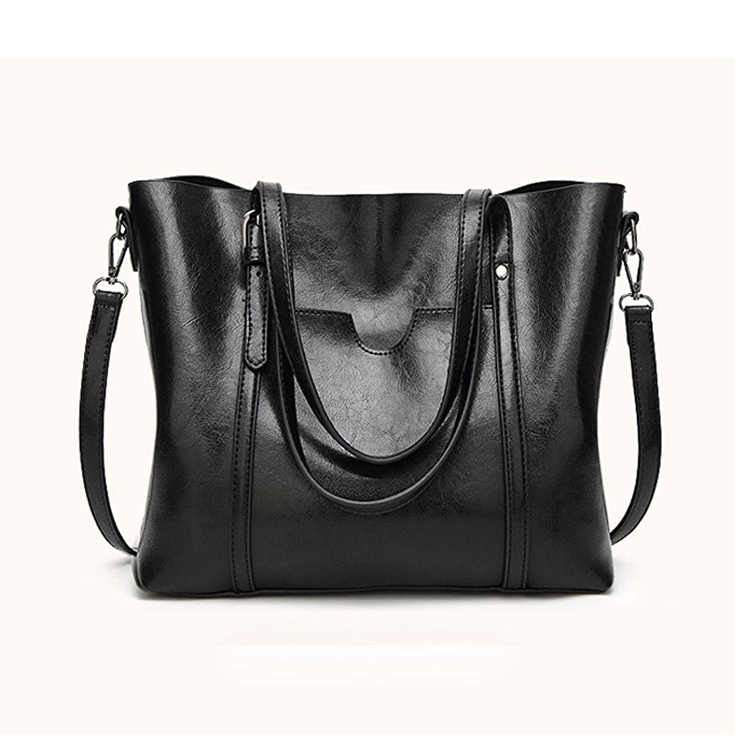 3d0d4c3fe7 Amazon.com  BCDshop Fashion Tote Bag Women Handbag Purses Ladies Vintage  Work Travel Shoulder Bags