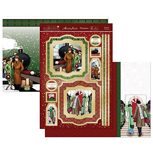 Hunkydory Festive Deco - Home For Christmas - Topper Set Card Kit