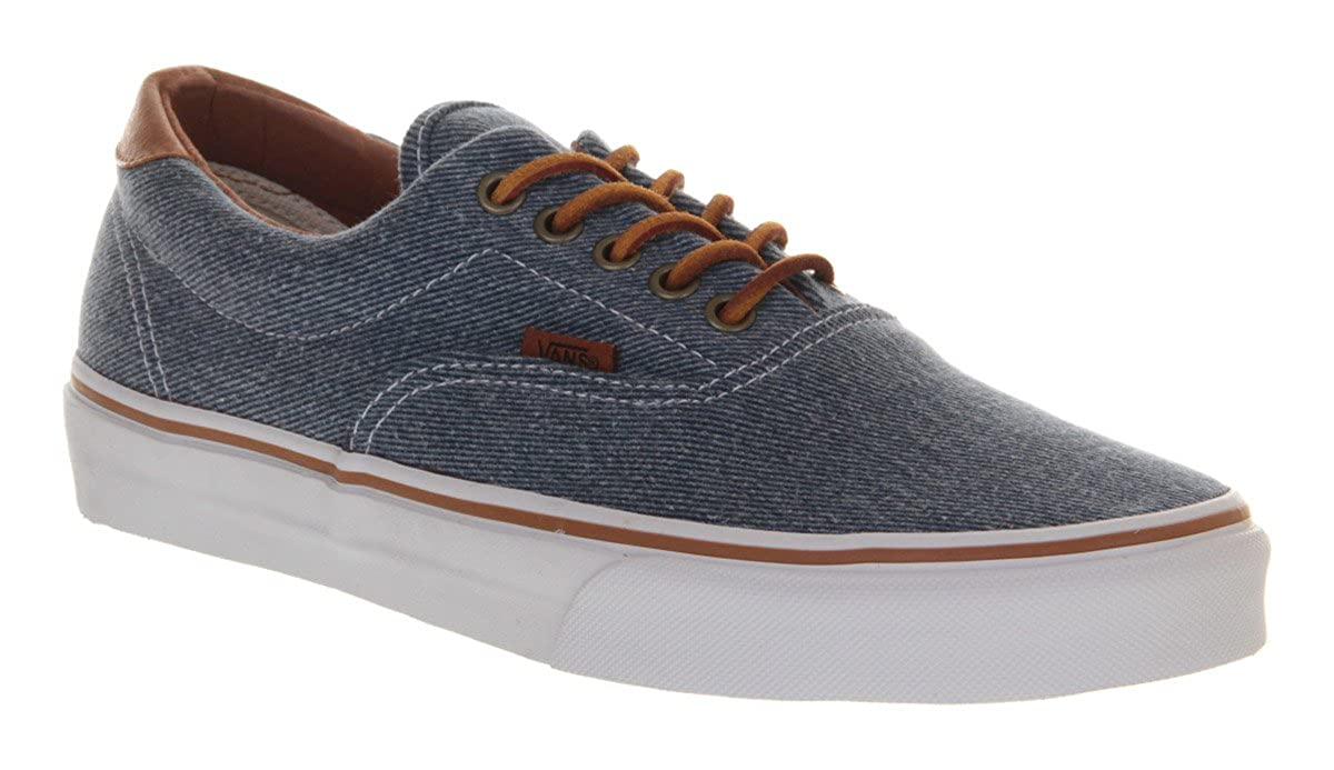 Vans Era 59 Blue Washed Twill Exclusive - 9.5  Amazon.co.uk  Shoes   Bags 190484bfed3f