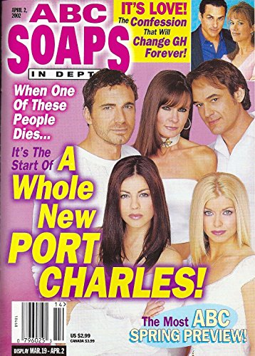 Erin Hershey, Julie Pinson, Jon Lindstrom, Lynn Herring & Thorsten Kaye (Anchorage Charles) l Soaps' Most Unexpected Exits - April 2, 2002 ABC Soaps In Depth