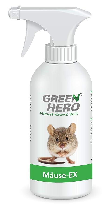 Green Hero Mäuse Ex Spray Zur Mäuseabwehr 500 Ml Fernhaltemittel