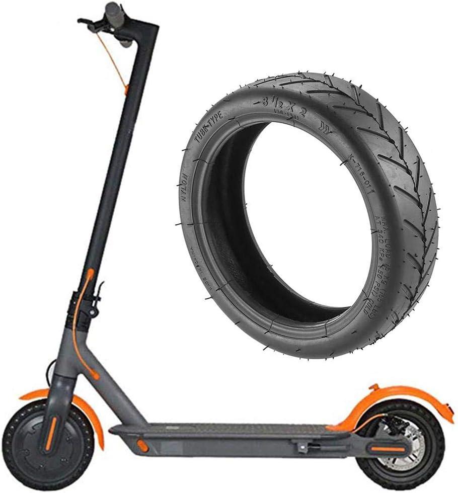youngfate 8,5 Pulgadas Scooter Neumático Delantero/Trasero Neumático Reemplazo De Rueda DIY Reemplazo Neumático De Goma De Repuesto para Xiaomi Mijia M365 Scooter Eléctrico
