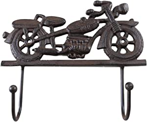Cast Iron Motorcycle Coat Rack