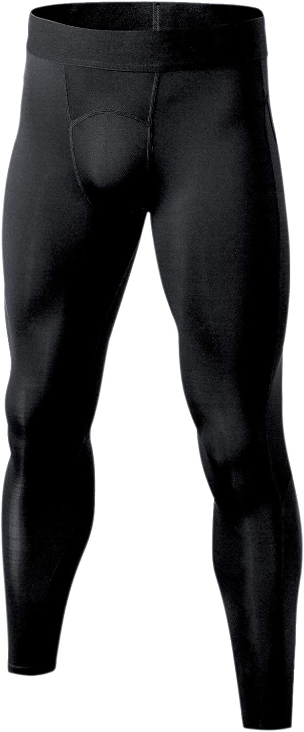 Self Pro Men's Thermal Compression Pants Athletic Sports Leggings Running Tights Cold Weather Winter Warm Base Layer Bottom at  Men's Clothing store