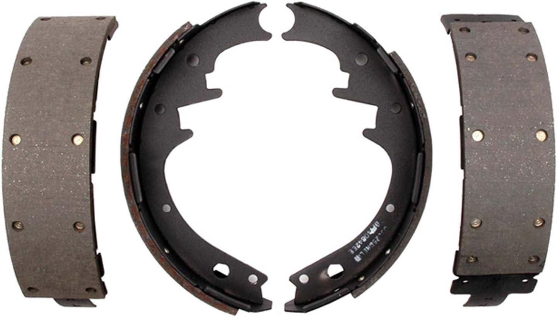 ACDelco 17581R Professional Durastop Riveted Rear Drum Brake Shoe Set