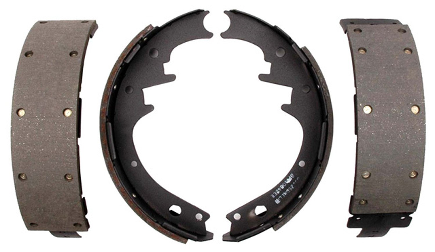 ACDelco 17581R Professional Riveted Rear Drum Brake Shoe Set