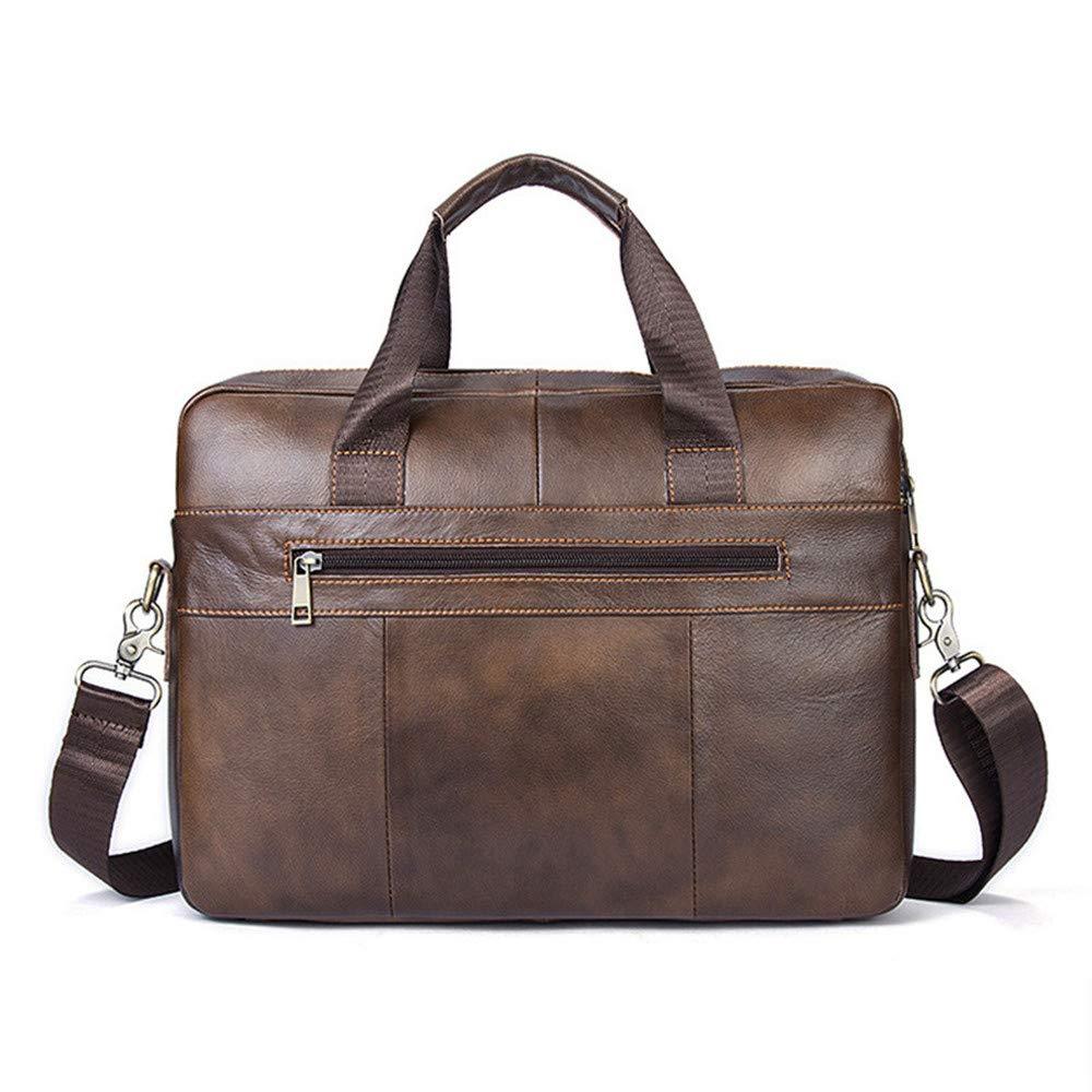 e66645bbad93 Amazon.com: Canyixiu Men's Leather Briefcase Leather Briefcase ...
