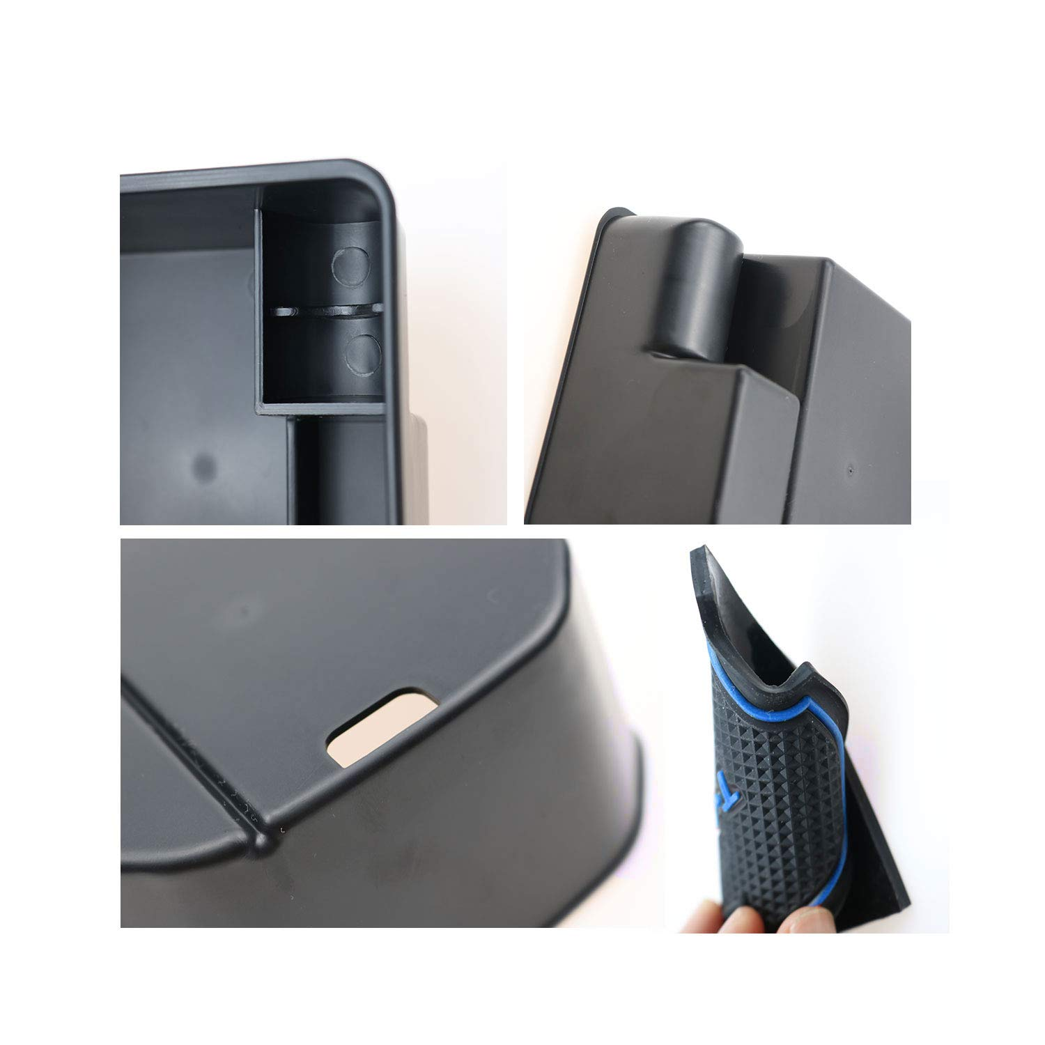 YEE PIN Centre Console Organizer Tray Armrest Tray Compatible with T Roc SUV 2018 2019 2020 Secondary Storage Box Insert Glove Compartment Car Accessories