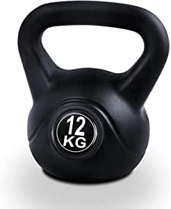 12KG Kettlebell Set Kettle Bell Weight Plates Home Gym Fitness Exercise Workout Training Bench Press Squat Everfit
