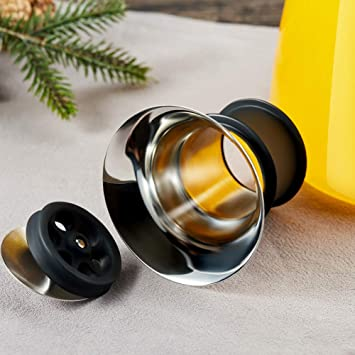 Amazon.com: cicike 51oz/1,5 litros jarra de agua de vidrio ...