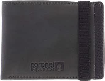 Coronel Tapiocca Cartera Hombre/Adolescente con Compartimentos Para billetes, bolsillo, ranuras para tarjetas y departamentos interiores