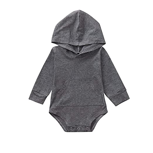 bbc5ad699 Amazon.com  Kehen Infant Newborn Baby Girl Boy Cotton Clothes Long ...