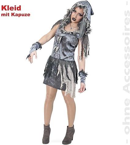 Carnaval 10667 disfraz Zombie-vestido de novia para Halloween ...