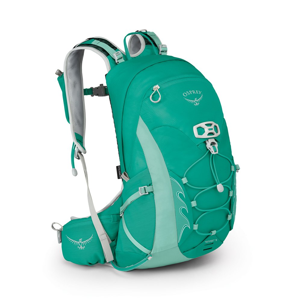 Osprey Packs Tempest 9 Women's Hiking Backpack, Lucent Green, Ws/M, Small/Medium
