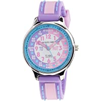 Jacques Farel Girl's Quartz Kids Watch analog Display and Silicone Strap, KTT2462