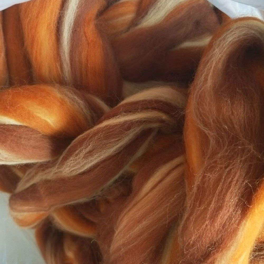 Maslin Merino Wool Needle Felting Wool Mix Felt Wool for Needle Felting Wool 50g 100g 200g 300g 500g 1000g - (Color: Order6 1000g)