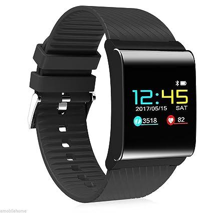 """OOLIFENG Reloj Inteligente Bluetooth Pantalla de Color OLED de 0.95""""Pulgadas Aptitud Seguidor de Actividad"""