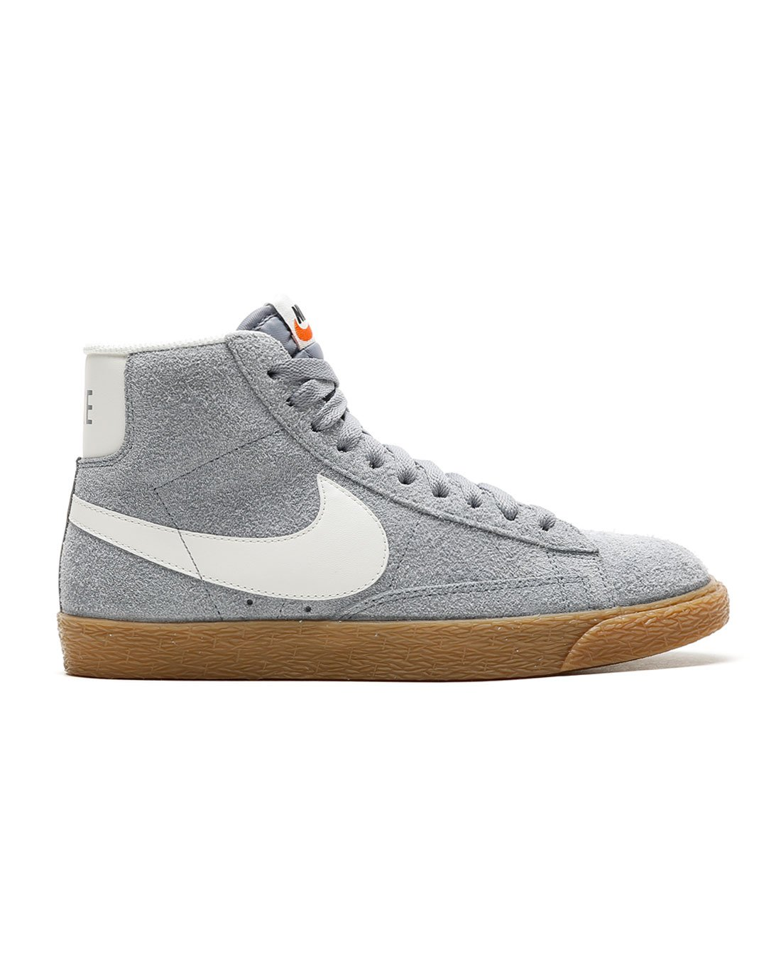 Nike Women's Blazer Mid Suede Vintage Stealth/Ivory 518171-016 (Size: 6)