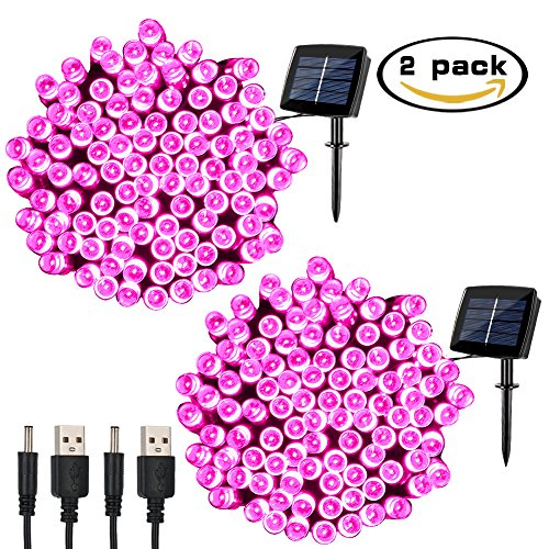Pink Led Christmas Lights Outdoor
