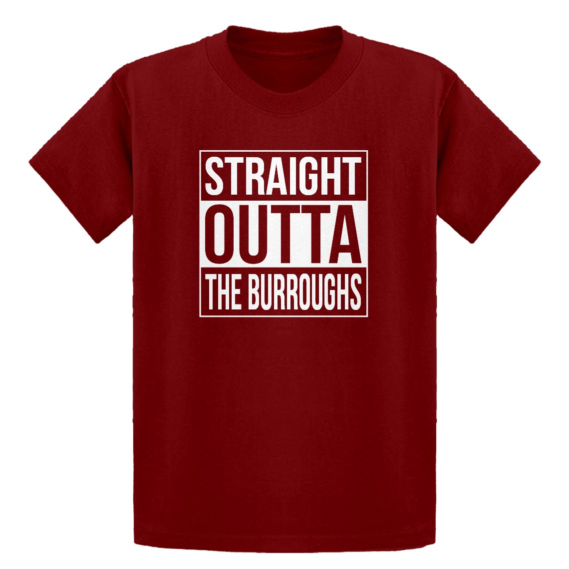 Indica Plateau Youth Straight Outta The Burroughs Kids T-Shirt