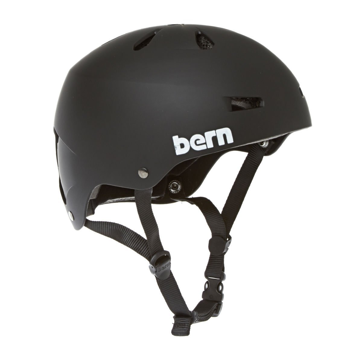 BERN Macon H2O Helmet Matte Black XL by Bern