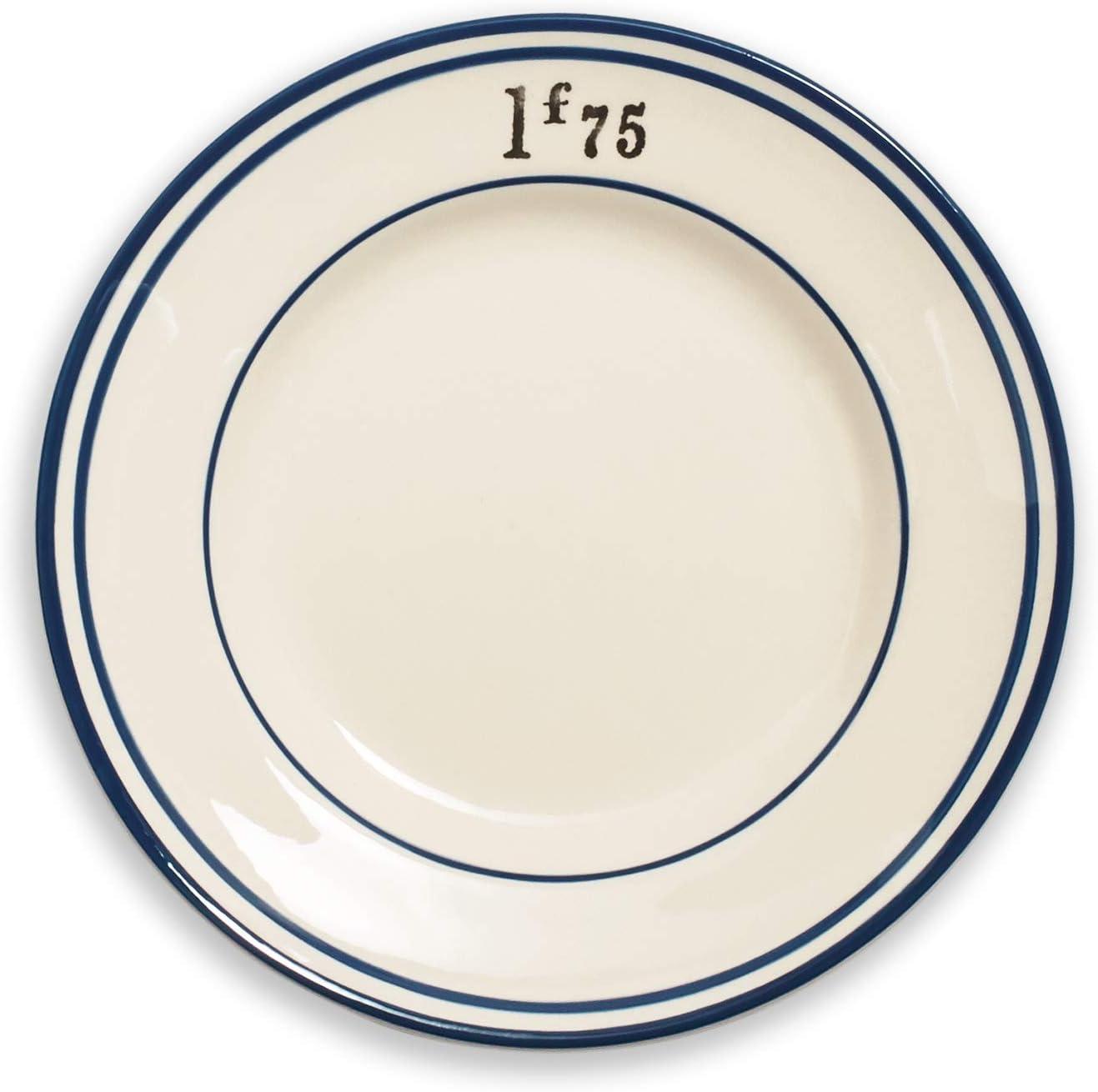 Sur La Table French Bistro Appetizer Plates, Set of 4