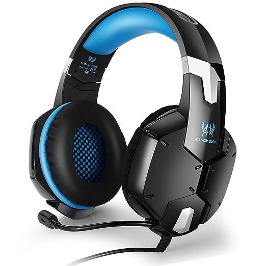 27 opinioni per EasySMX G1200 Stereo Gaming Cuffie Multifunzione Sono Compatibili per PS4 PC