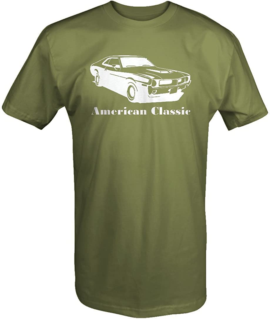 OS Gear American Classic AMC Javelin 1970s AMX Muscle Car T Shirt