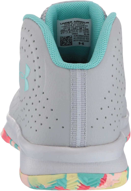 Under Armour Unisex-Youth Pre School 2019 Basketball Shoe Mod Gray //Halo Gray 13K 102