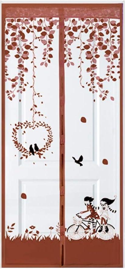 Pantallas de puertas y ventanas magnéticas antimosquitos para casas de verano Las redes antimosquitos para verano cierran automáticamente las pantallas de puertas y ventanas para el hogar A1 W80xH210