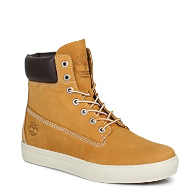 9d42950a3ab2 Timberland EK Wheat Yellow Newmarket 6inch Cupsole Mens Leather Boots-UK 8   Amazon.co.uk  Shoes   Bags