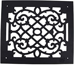 Renovators Supply Manufacturing Air Vent Cover Grille Rose Thorne Overall 14 X 16
