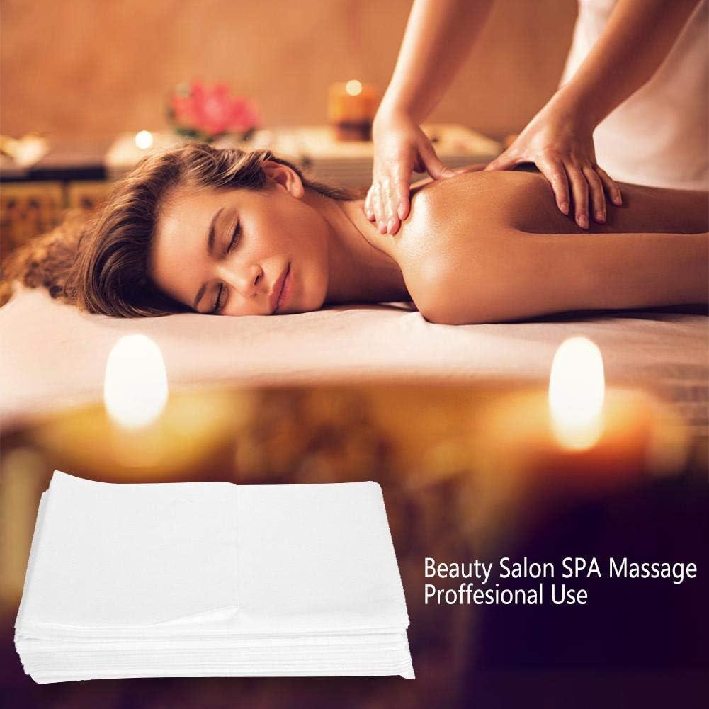 10pcs copertura del divano di massaggio per il salone non tessuto di lenzuolo usa e getta impermeabile spa massaggio copri materasso protettore Blue