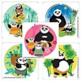 Kung Fu Panda 3 Stickers - Prizes and Giveaways - 75 per Pack