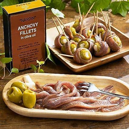 Anchoa Filetes por Nardin: Amazon.com: Grocery & Gourmet Food