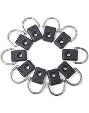 D-anillos de canoa kayak - SODIAL(R) D-anillos de kayak magideal para canoa accesorios de kayak 10pzs