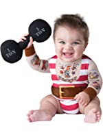 Fun World InCharacter Costumes Baby Boys' Silly Strongman Costume