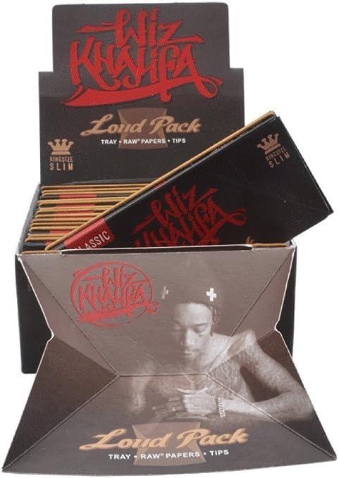 Wiz Khalifa Artesano Style - Loud Pack - Papel de liar clásico de ...