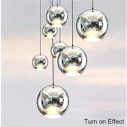 Amazon.com: Moderna lámpara colgante con forma de globo ...