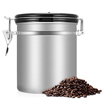 how to make better coffee with airtight coffee bean storage