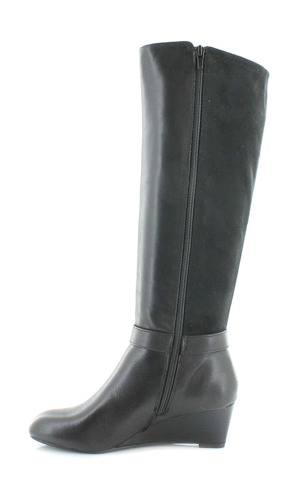 Giani Bernini Womens Dafnee Closed Toe Over Knee Fashion Boots, Black, Size 11.0