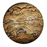 Satyamani Picture Jasper Gemstone Sphere (201 gm-300 gm)