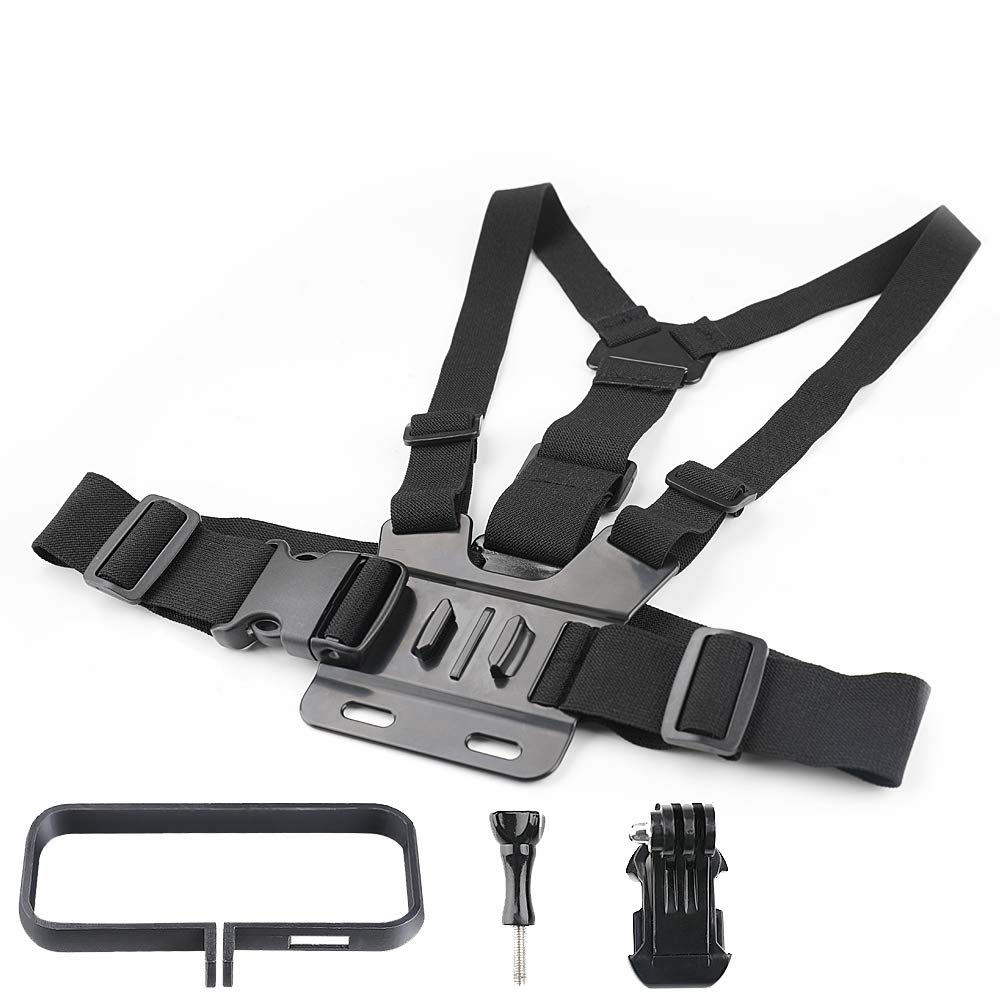 BonFook Action Camera Accessory Kit,Chest Belt Strap Harness Mount Compatible for Insta360 ONE X ONE Action Camera by BonFook