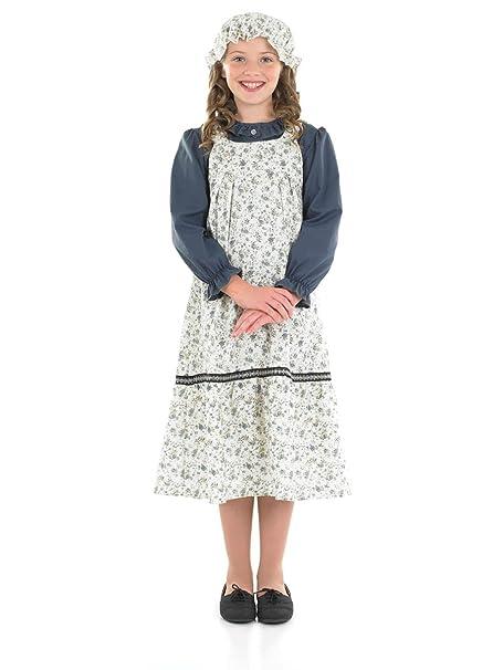 Vintage Style Children's Clothing: Girls, Boys, Baby, Toddler Large Girls Victorian School Costume $26.12 AT vintagedancer.com