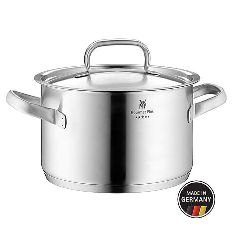 Amazon.com: WMF Gourmet Plus Cazuela Plato y Tapa (24 cm ...